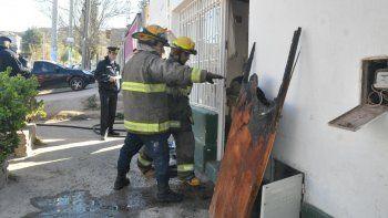 Pintores salvaron a 3 niños del incendio de su vivienda