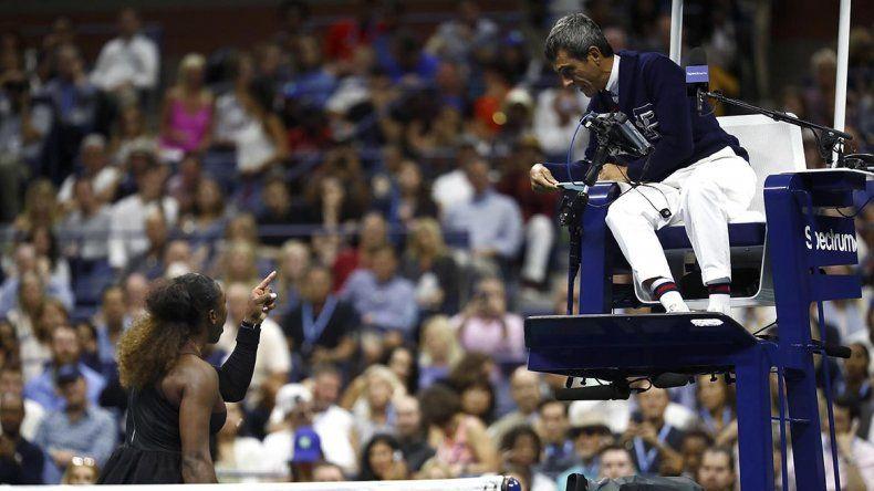 Nada Serena: Williams perdió la final con Osaka y se peleó con el juez