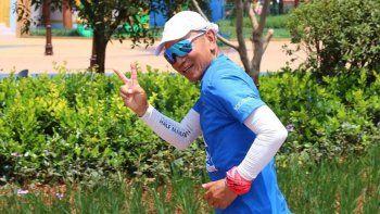Increíble: un chino corrió 100 maratones en 100 días