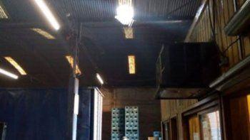 el ladron del mal paso: fue detenido tras caer del techo