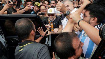 Los nuevos jefes de Maradona son bravos dueños de casinos