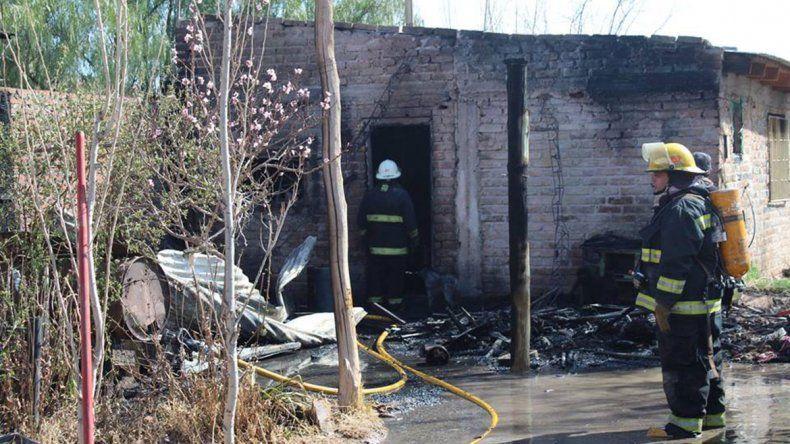 Pedro se recupera tras salvar de las llamas a su familia