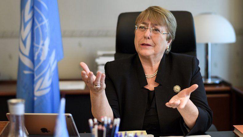 Bachelet debutó en la ONU con fuertes críticas a Maduro