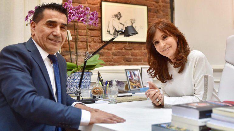 Rioseco se reunió con Cristina y habló de una persecución judicial