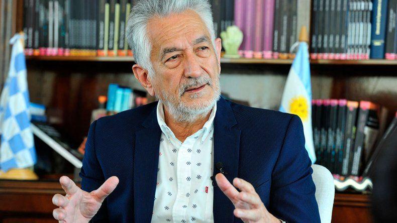 El gobernador de San Luis fue muy crítico con el Gobierno.