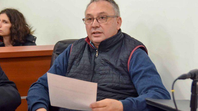 Santiago Baudino, secretario general del Sindicato de Trabajadores Municipales (Sitramune).