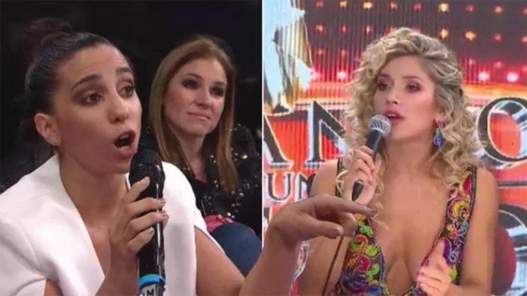 Laurita Fernández y Cinthia Fernández se dijeron de todo por el Perchagate