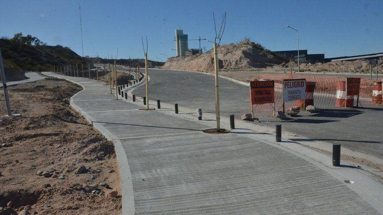 La apertura de la calle Albardón  será en octubre