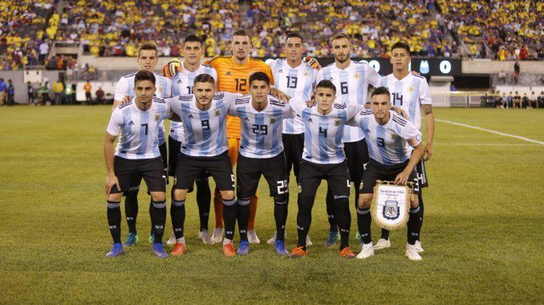 Argentina no pudo con Colombia y cerró su gira por Estados Unidos