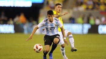 argentina no pudo con colombia y cerro su gira por estados unidos