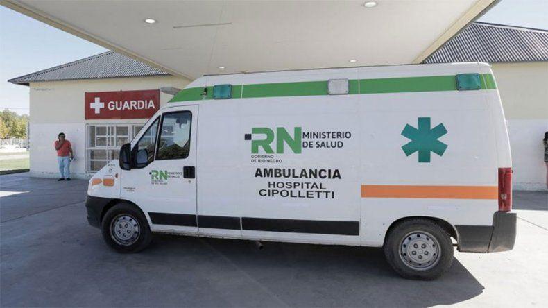 Cipolletti: un nene de 3 años fue internado por la bacteria estreptococo