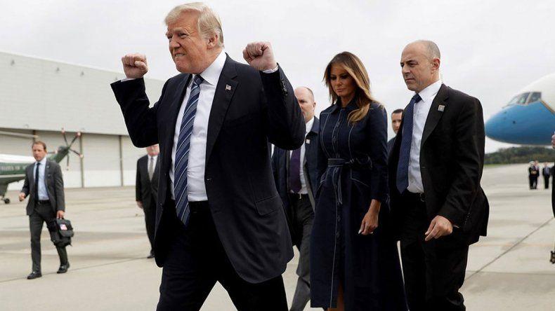 El gesto del presidente de EE.UU. fue considerado obsceno.