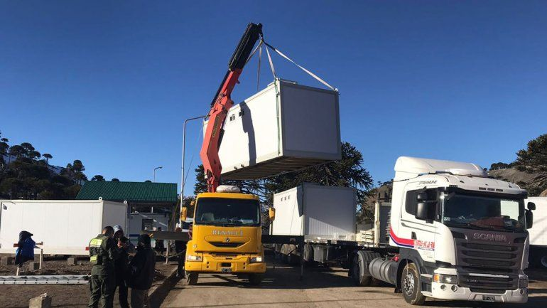Al fin instalarán nuevos sanitarios en el paso fronterizo Pino Hachado