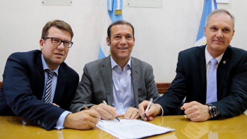Se firmó la concesión a YPF y Pluspetrol para la explotación del área La Calera