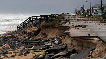 florence: lo que esta dejando el paso del huracan
