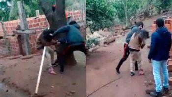 violencia de genero: su pareja lo dejo y le dio una brutal golpiza