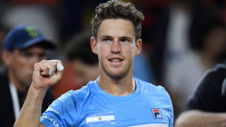 Copa Davis: Schwartzman venció a Giraldo y adelantó a Argentina