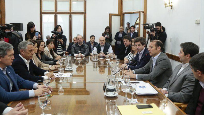 Provincia y Nación acordaron avanzar con la II etapa de obra del arroyo Durán