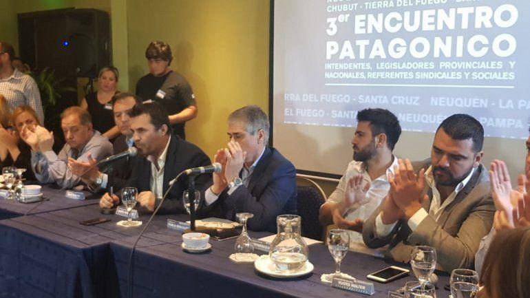 Con fuerte presencia política, el frente patagónico va por el fondo sojero