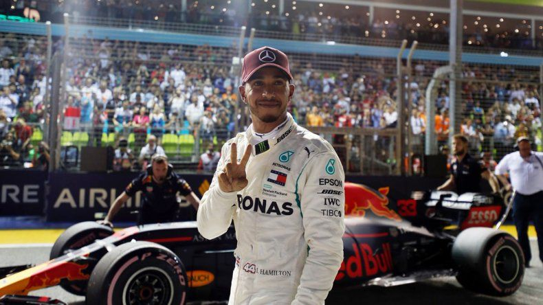 Hamilton fue el más veloz en Singapur
