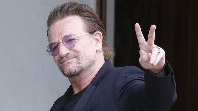 Bono apoyó a Macri