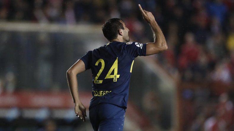 Con este gol de Izquierdoz, Boca le ganó 1 a 0 a Argentinos Juniors