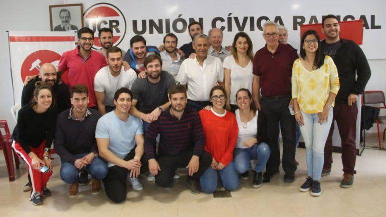 Jóvenes de la UCR de todo el país se reunieron con Pechi