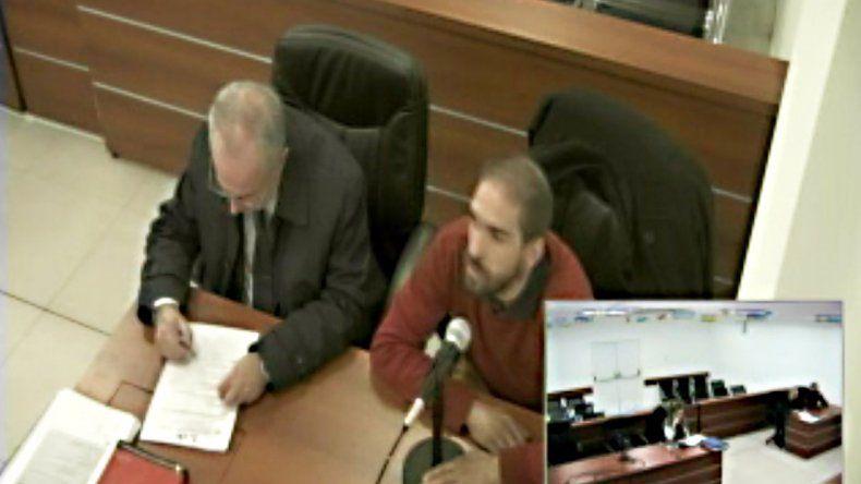 Conde fue acusado por robar autos durante una audiencia en Ciudad Judicial.