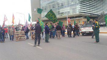 los ex trabajadores de mam llevan su reclamo al centro de la ciudad