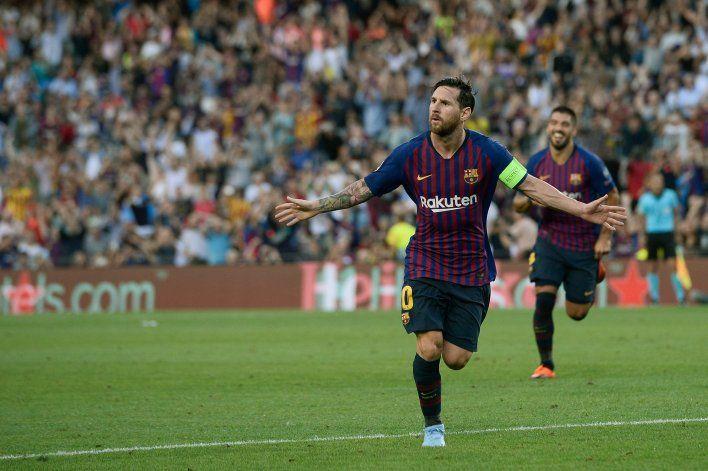 Messi sorprendió en el entrenamiento con un cambio de look