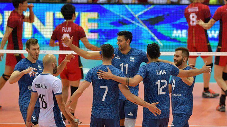 Mundial de vóley: Argentina perdió ante Japón pero clasificó a la segunda fase