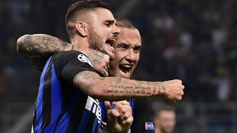 Inter dio vuelta el partido ante Tottenham con un golazo de Icardi