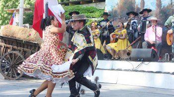 los chilenos de neuquen tambien tuvieron festejos