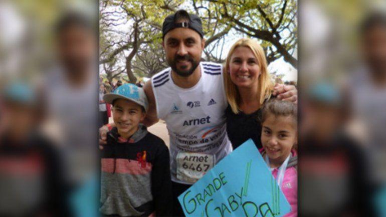 Superó el cáncer y corre por cuarta vez la maratón de Buenos Aires