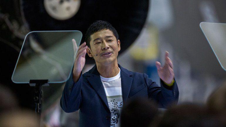 Yusaku Maezawa tiene 42 años y su fortuna se calcula en unos 3000 millones de dólares.