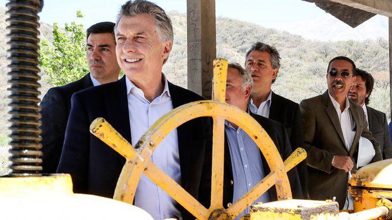 Macri, con Urtubey en Salta: Este es el camino correcto