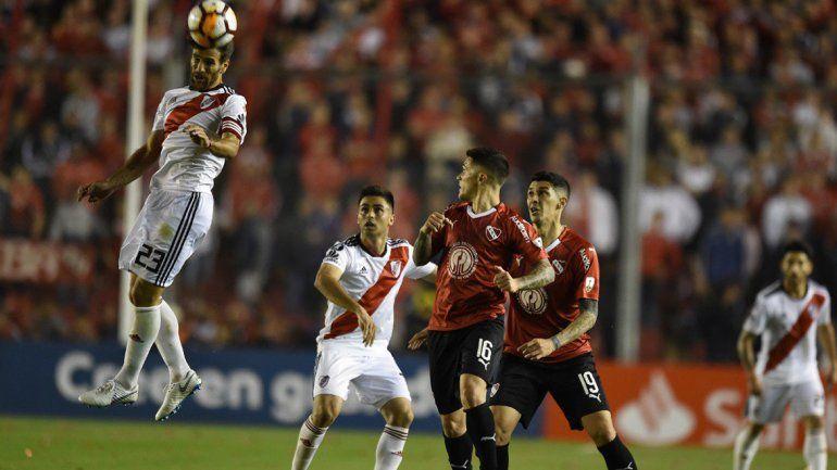 River e Independiente empataron sin goles en la ida de los cuartos