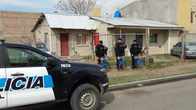 La Policía Federal secuestró ocho kilos de cocaína en una vivienda del barrio Belgrano