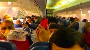 La empresa Jet Airways envió un comunicado con el incidente.