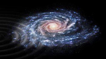 detectaron una extrana perturbacion en la galaxia