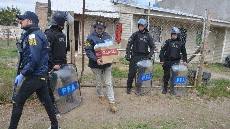 Red narco tenía acopiados casi 9 kilos de cocaína