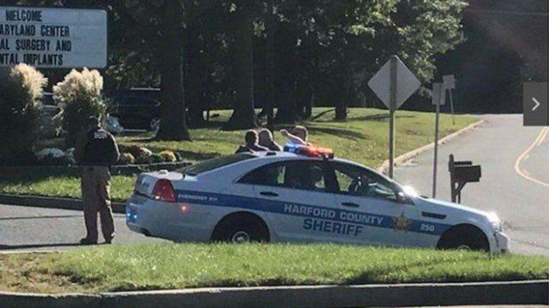 El ataque se produjo ayer a la tarde en un parque industrial de Baltimore.