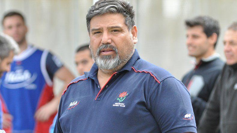 Benjamín Hernández en el partido ante los sanjuaninos.
