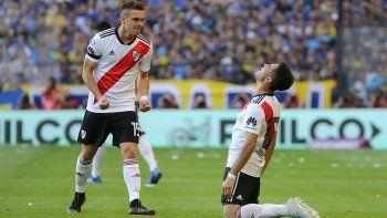 Con dos goles de otro partido, River ganó con autoridad en la Bombonera y ya piensa en la revancha por la Copa ante Independiente.