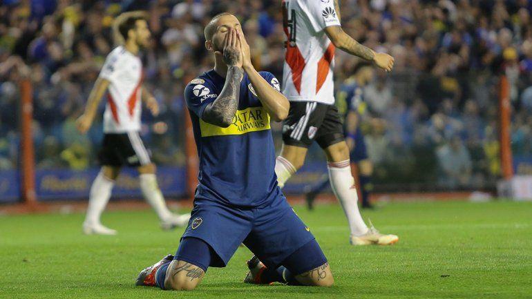Ni Benedetto ni Boca lo pueden creer. Otro traspié frente al Millonario.