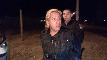 Roberto Socotroco González al momento de ser detenido en Plottier.