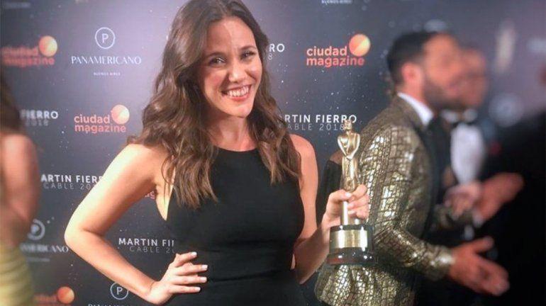 Luciana Rubinska, la primera mujer en ganar un Martín Fierro como periodista deportiva