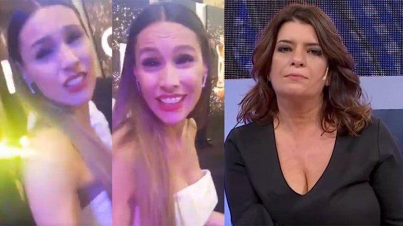 Pampita agredió a una panelista de Los Ángeles de la mañana