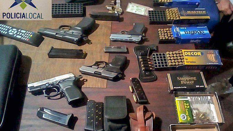 Como tenía armas en su casa