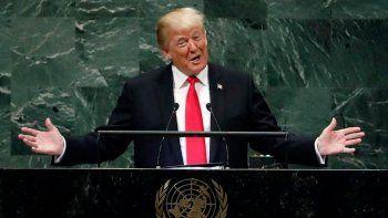 El presidente norteamericano se sorprendió: sus dichos fueron en serio.